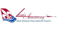 Louis Armstrong,New Orleans logo
